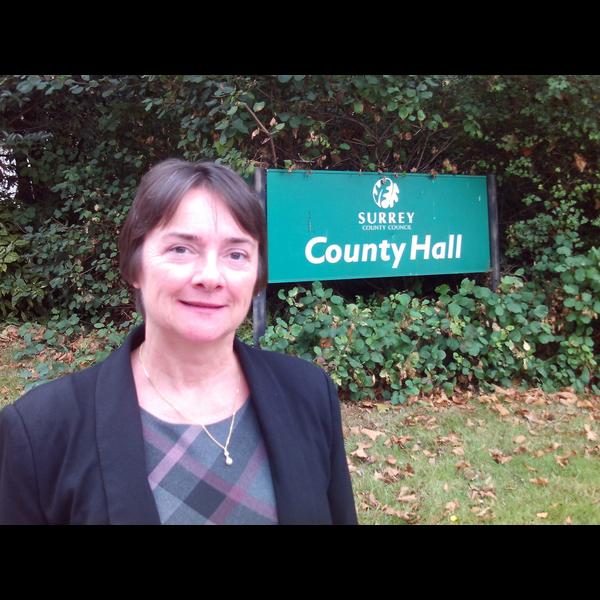 Hazel at County Hall