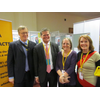 Cllr Theresa Higgins, Gemma Roulston, Stephen Lloyd MP and David Buxton at the LDDA stall at Brighton conference March 2013